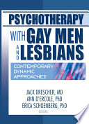 Psychotherapy with Gay Men and Lesbians