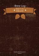 Brew Log Book