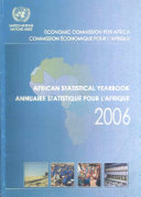 Read Online African Statistical Yearbook, 2006 For Free