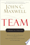 Team Maxwell 2in1 Winning With People 17 Indisputable Laws  Book