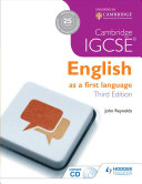 Books - Cambridge IGCSE English as First Language - Third Edition | ISBN 9781444191660