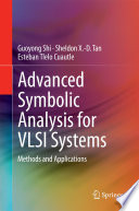 Advanced Symbolic Analysis For Vlsi Systems Book PDF