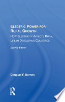 Electric Power For Rural Growth