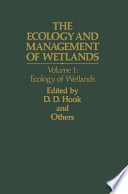 The Ecology And Management Of Wetlands Book PDF