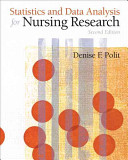 Statistics And Data Analysis For Nursing Research Book PDF