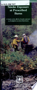 Smoke Exposure at Prescribed Burns