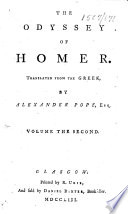The Odyssey Of Homer Translated By Alexander Pope Esq