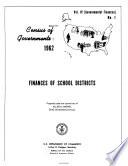 Census Of Governments 1962 Governmental Finances