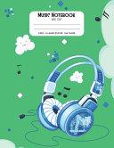Music Notebook Wide Staff Book PDF