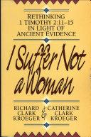 I Suffer Not a Woman Pdf