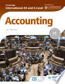 Cambridge International AS and A Level Accounting