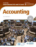 Books - AS And A Level Accounting Students Book | ISBN 9781444181432