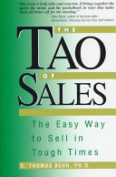 The Tao Of Sales Book