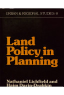 Land Policy in Planning