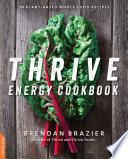 Thrive Energy Cookbook