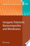 Inorganic Polymeric Nanocomposites And Membranes Book PDF