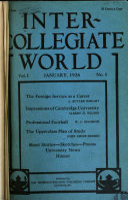 Pdf Inter-collegiate World