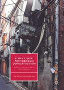 Pdf Korea's Quest for Economic Democratization Telecharger