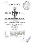 Boletín oficial del Supremo Consejo de Colón