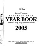 Editor & Publisher International Year Book