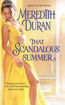 That Scandalous Summer ebook