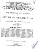 The Cultivator Country Gentleman Book