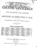 The Cultivator & Country Gentleman