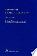 Linkage Thermodynamics of Macromolecular Interactions Book