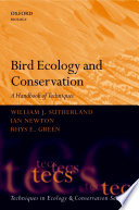 Bird Ecology And Conservation Book PDF