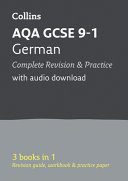AQA GCSE 9 1 German All In One Complete Revision and Practice  for the 2020 Autumn and 2021 Summer Exams  Collins GCSE Grade 9 1 Revision