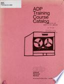 Adp Training Course Catalog