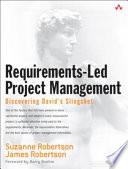Requirements-led Project Management