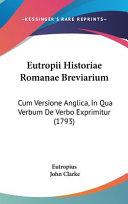 Eutropii Historiae Romanae Breviarium
