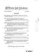 Uc Davis Business Law Journal