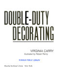 Double-duty decorating