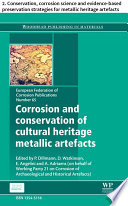 Corrosion And Conservation Of Cultural Heritage Metallic Artefacts Book PDF