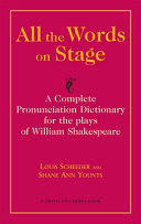 All the Words on Stage