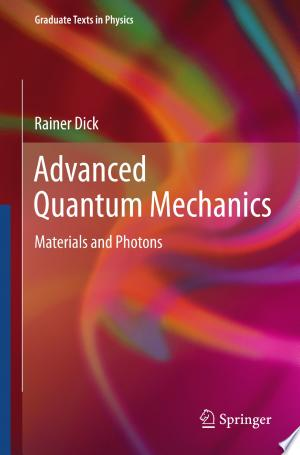 Download Advanced Quantum Mechanics online Books - godinez books