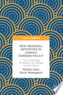New Regional Initiatives in China   s Foreign Policy