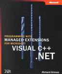 Programming with Managed Extensions for Microsoft Visual C    NET