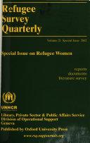 Refugee Survey Quarterly