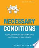 Necessary Conditions