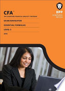 CFA Navigator - Level 3 Essential Formulas