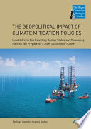 The Geopolitical Impact of Climate Mitigation Policies