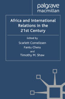 Pdf Africa and International Relations in the 21st Century Telecharger