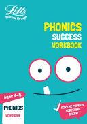 Phonics Ages 4-5 Practice Workbook