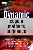 Dynamic Copula Methods in Finance Book