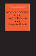 American Science in the Age of Jackson