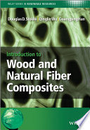 Introduction to Wood and Natural Fiber Composites Book