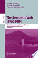 The Semantic Web   ISWC 2004